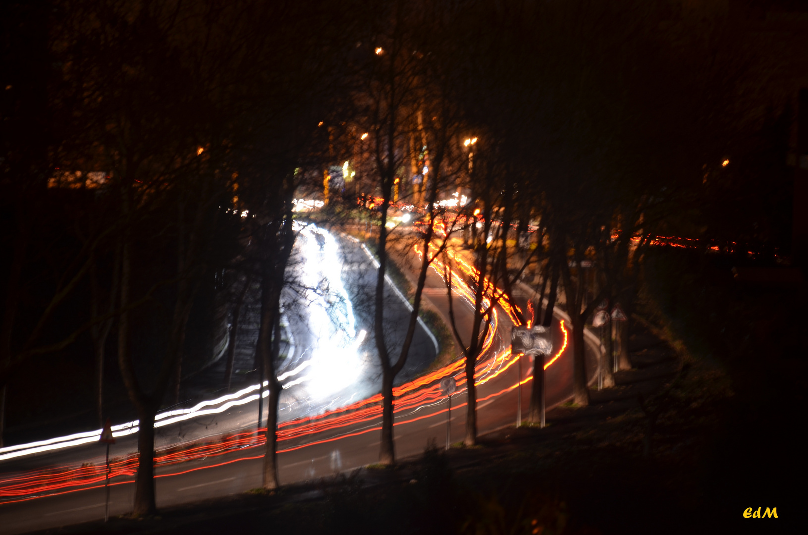 strada notturna