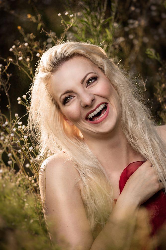 Strahlend Blond