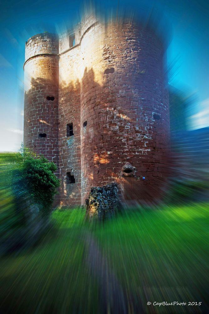 Strahlende Burg Neudahn