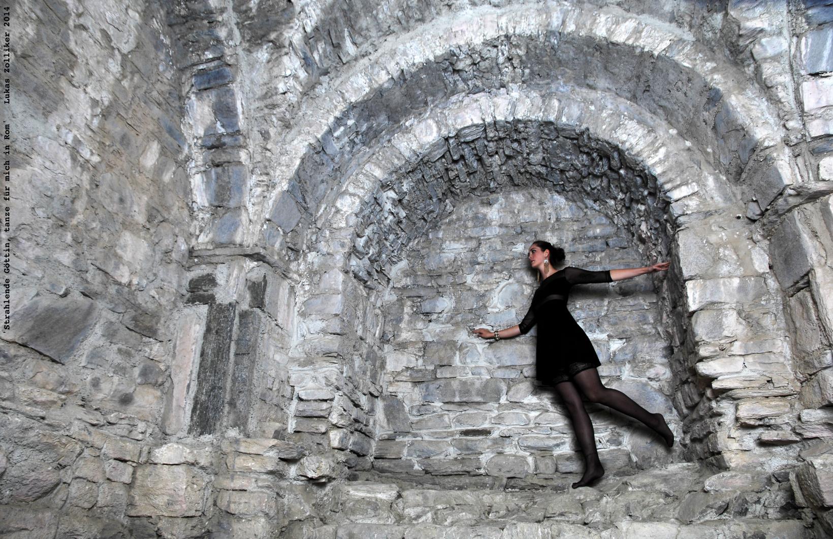 'Strahlende Göttin, tanze für mich in Rom'