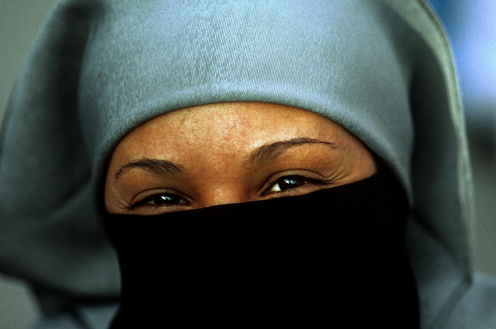 Strahlende Marokkanerin