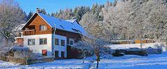 Strahlende Sonne in Oberfrauendorf oberthalb von Glashütte,der...