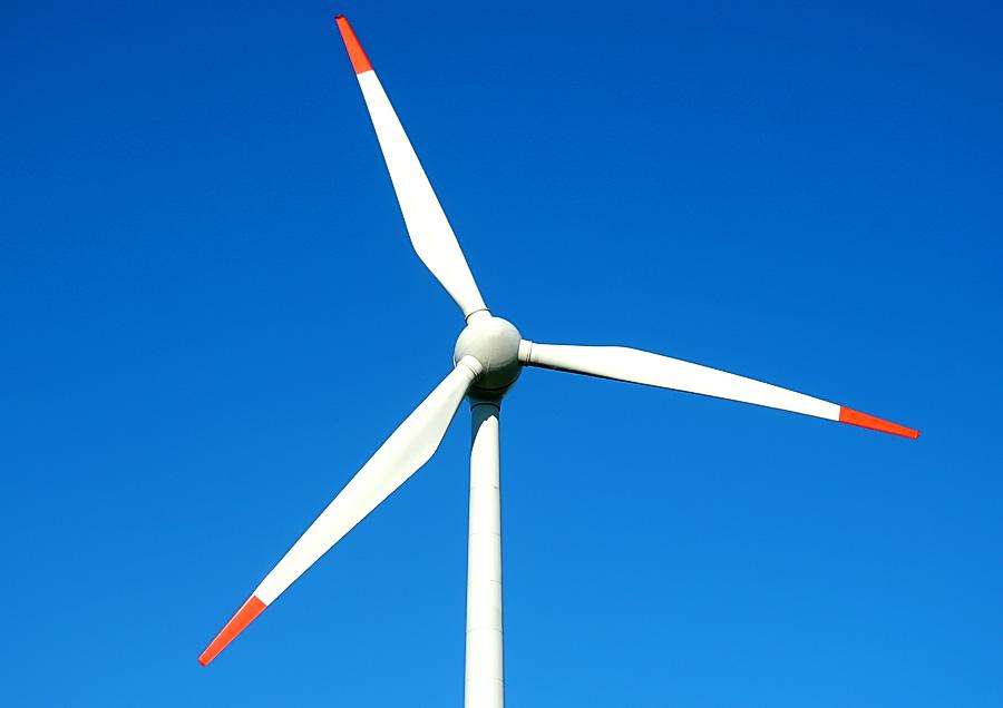 Strahlende Windkraft