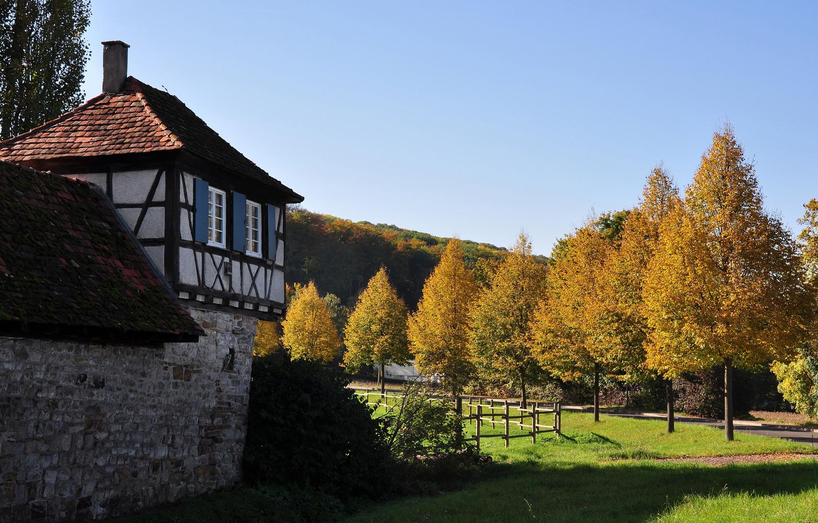 Strahlender Herbsttag