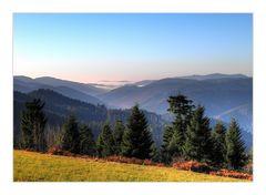 Strahlender November auf den Schwarzwaldhöhen