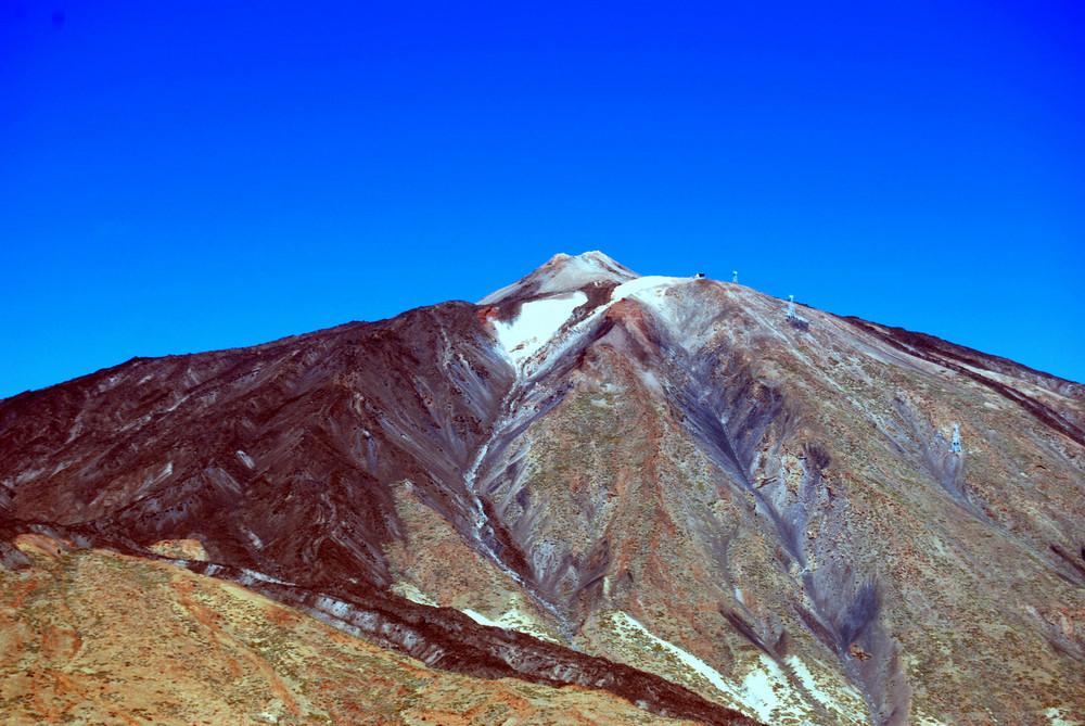 Strahlender Teide