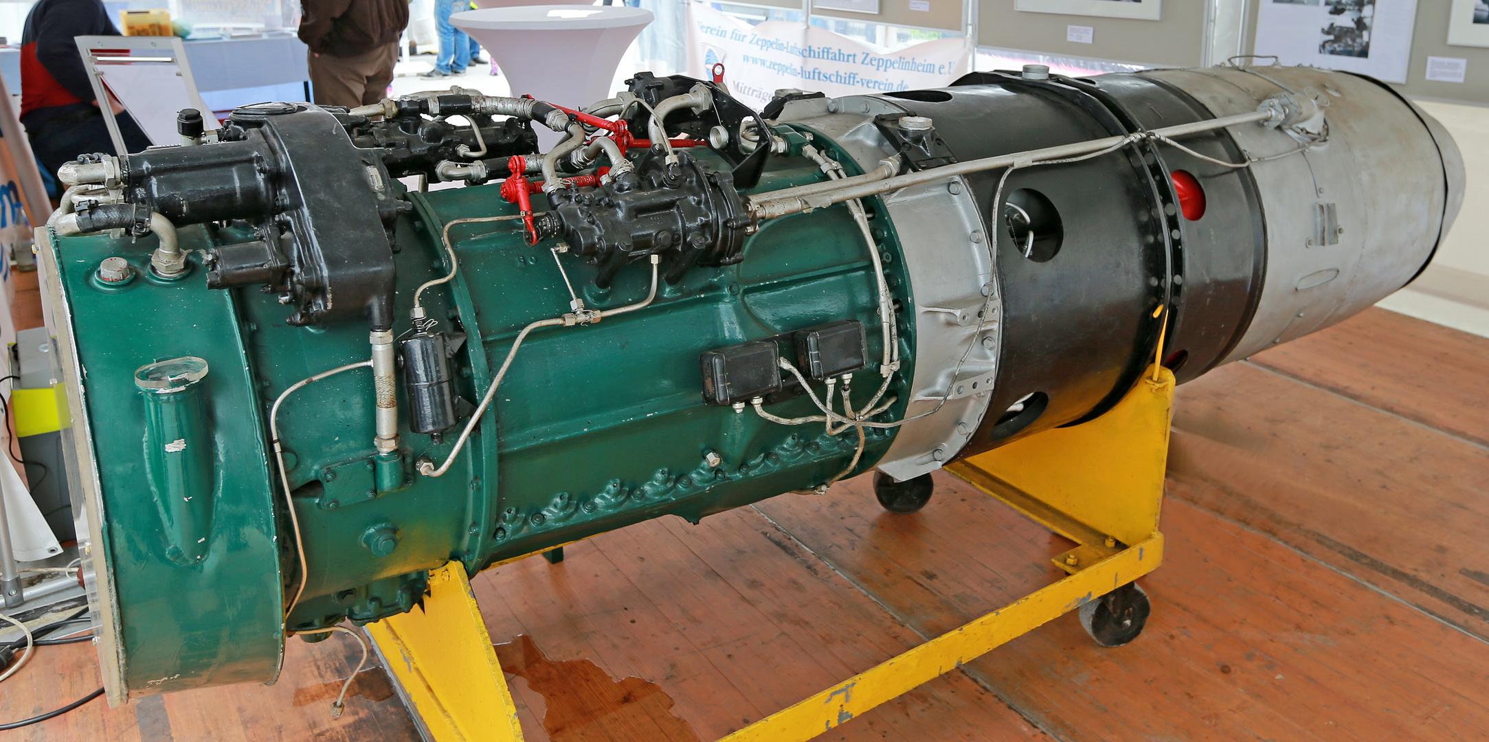 Strahltriebwerk Jumo 004 B