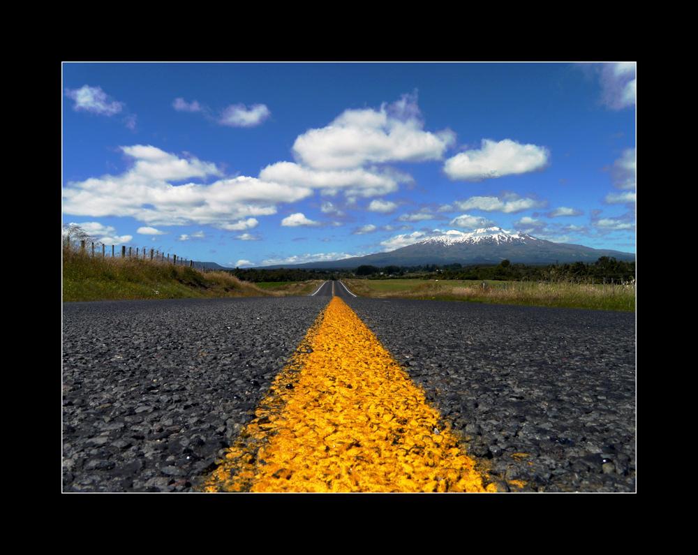 straight ahead....