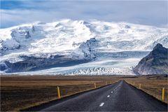Straight to the glacier..