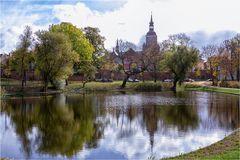 Stralsund Blick auf die Marienkirche