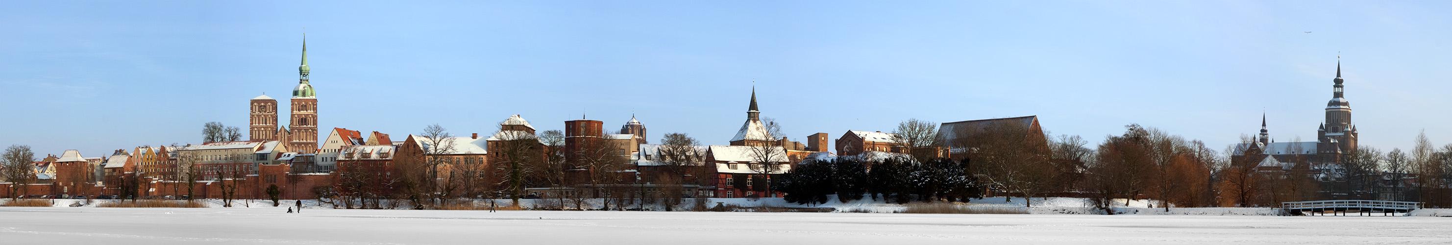 Stralsund-Winterpanorama --zum 2. Mal hochgeladen--