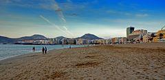Strand am Abend 1