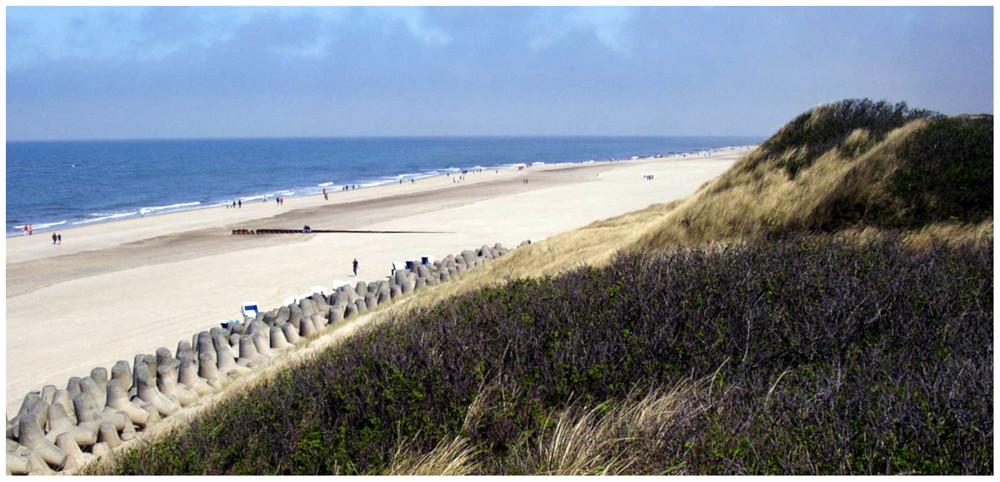 """Strand am Ende von """" Westerland """""""