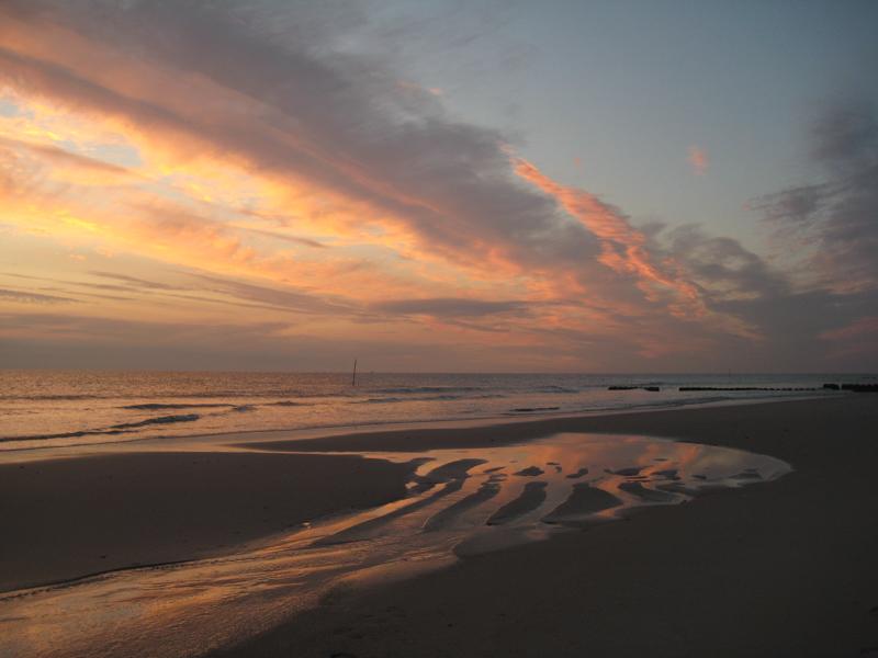 Strand am roten Kliff bei Kampen (3)