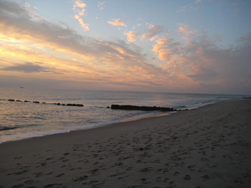 Strand am roten Kliff bei Kampen