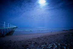 Strand am Roten Meer bei Nacht.