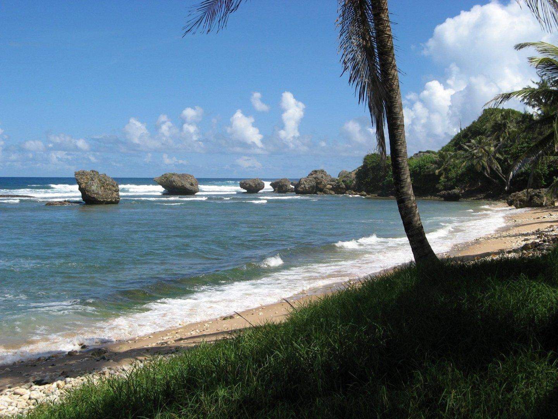 Strand auf Barbados (Kleine Antillen)