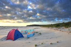 Strand auf der Insel Hiddensee