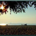 Strand, Beach, Greifswald, Sonnenaufgang