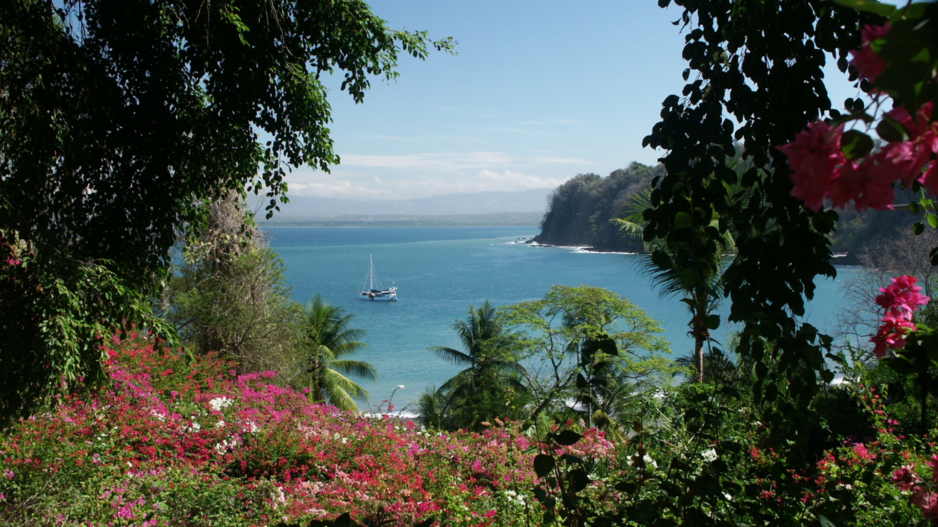 Strand bei Costa Rica