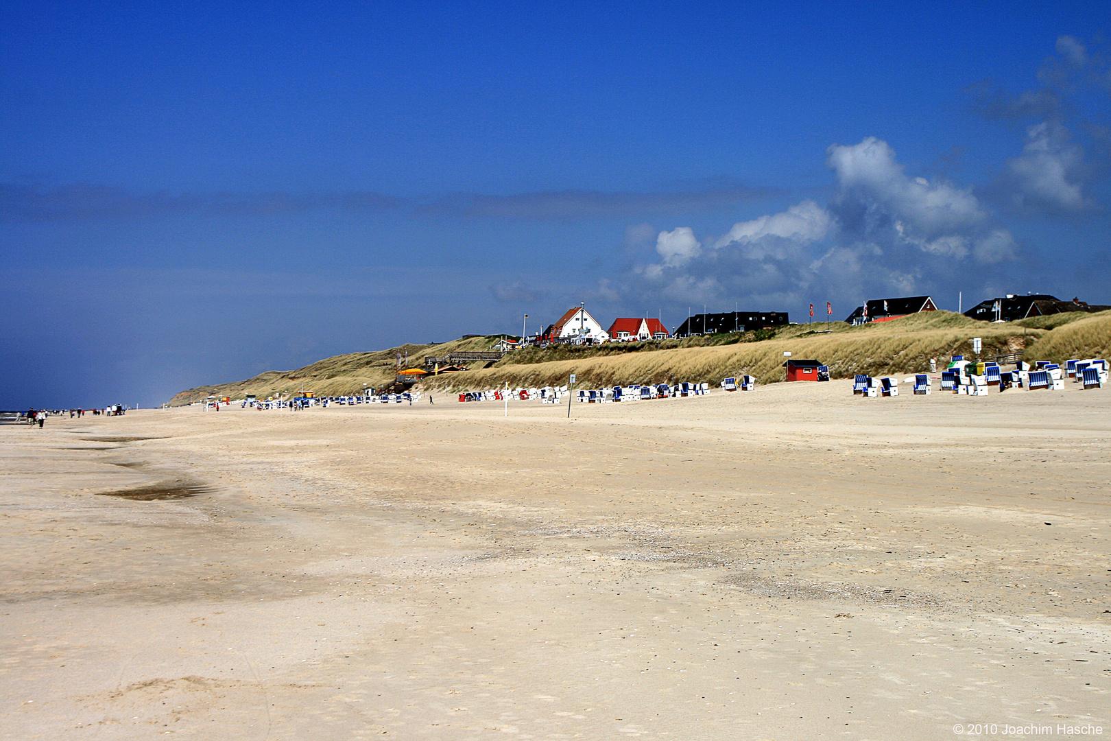 Strand bei Wenningstedt