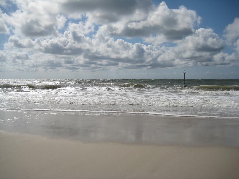 Strand bei Westerland auf Sylt