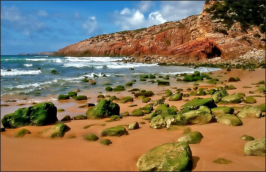 * Strand der Steine *