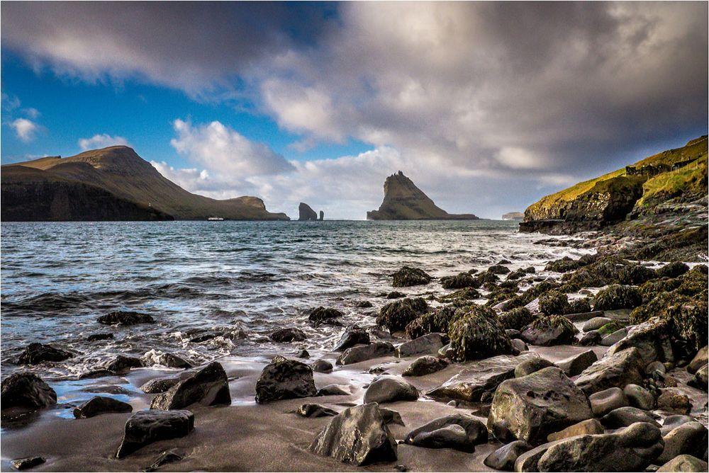 Strand im Nordatlantik..