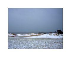 Strand im Winter II