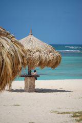 STRAND IN ARUBA Karibik mit Aida-Aura