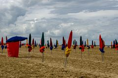 Strand in Deauville