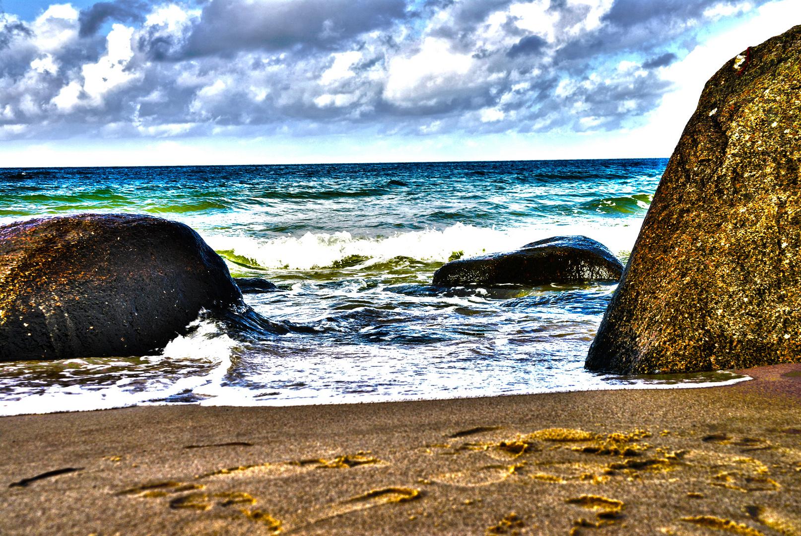 Strand in Göhren