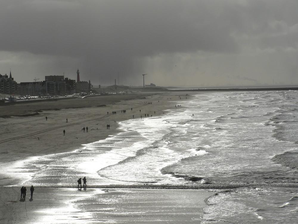 Strand in Scheveningen!!!