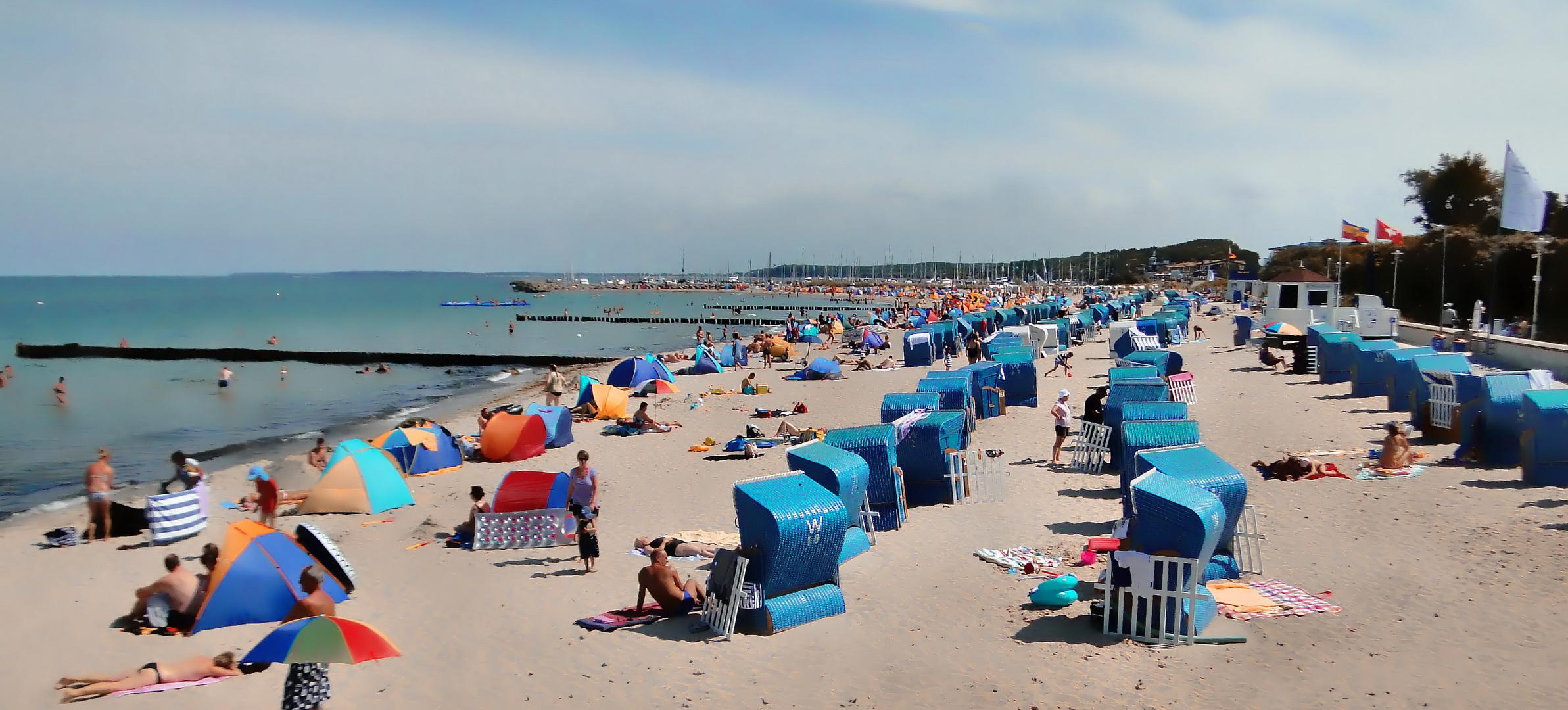 Strand Kühlungsborn-Weichgezeichnet