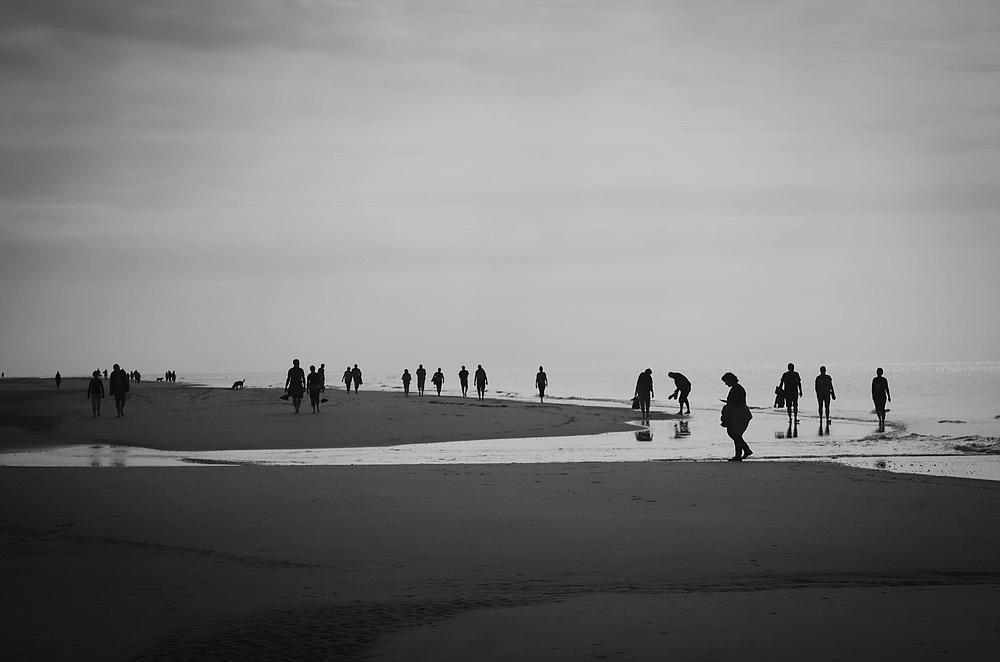 Strand-Läufer