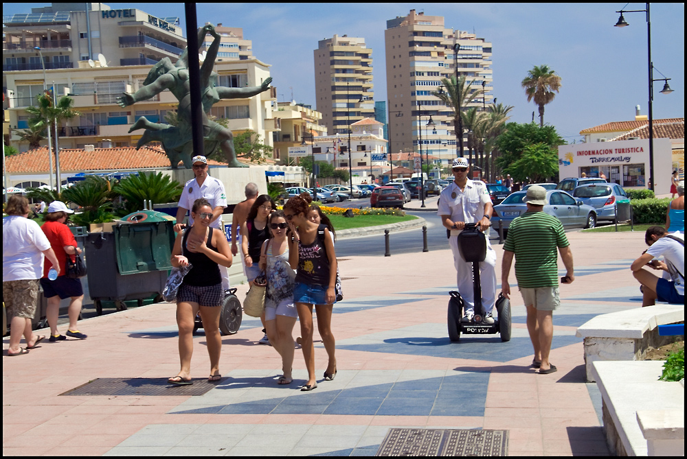 Strand-Policia Torremolinos