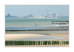 Strand, Schelde, Skyline (Vlissingen )