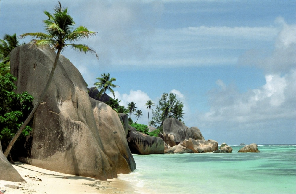 Strand - Seychellen
