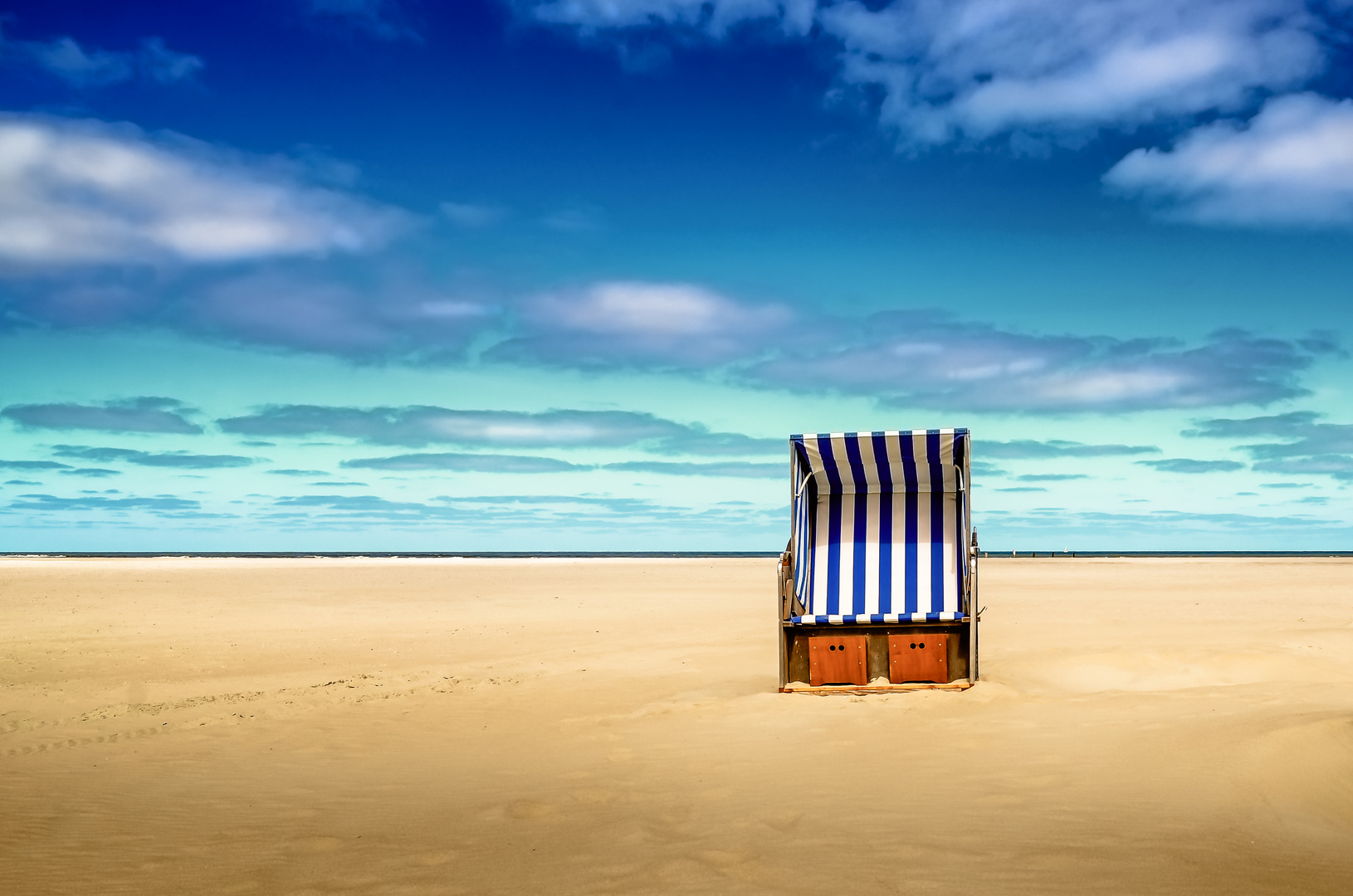 Strand - Stillleben auf Norderney