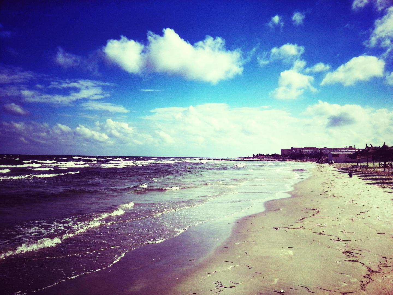 Strand und Meer in Monastir