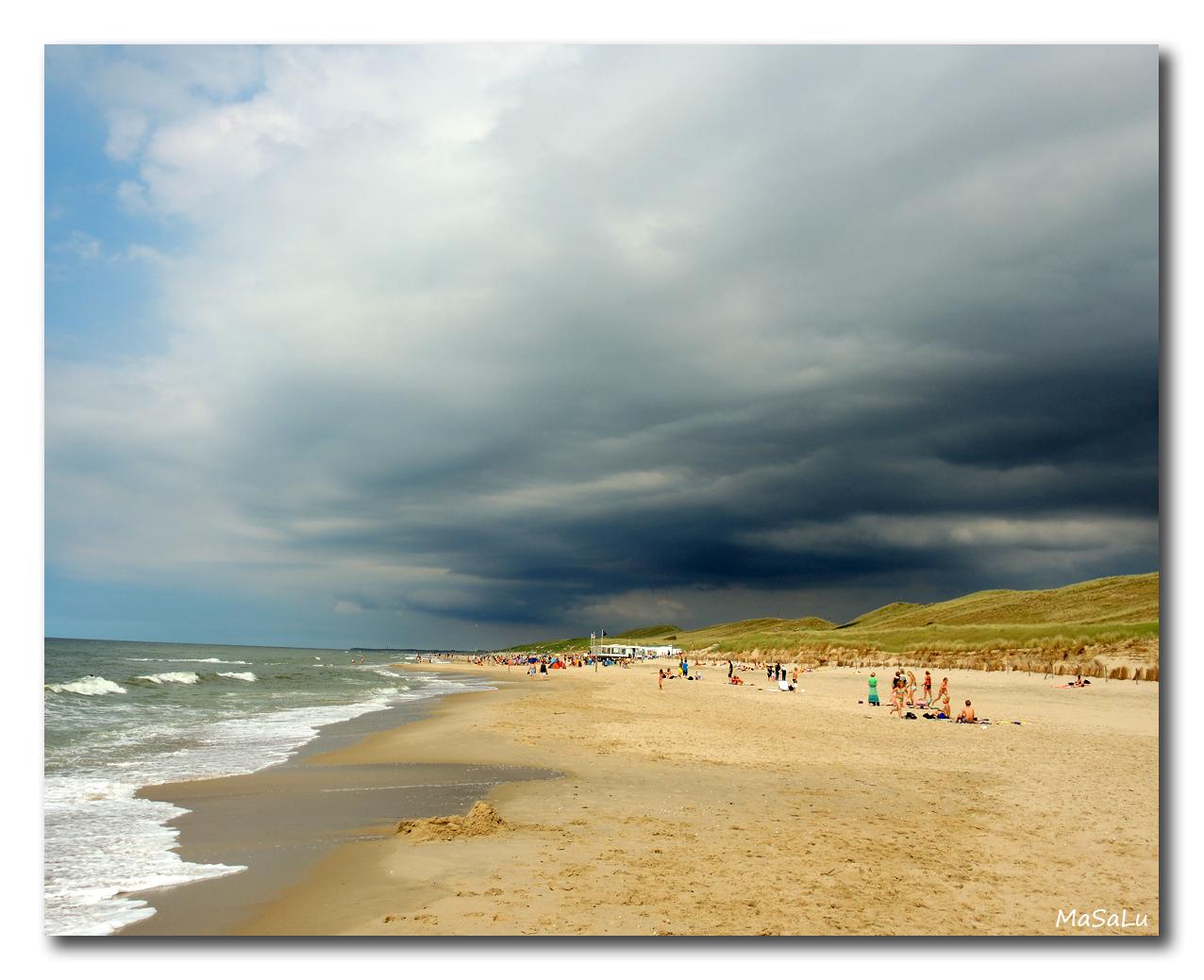 Strand von Callantsoog in Nord-Holland