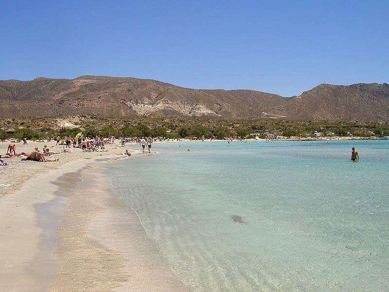 Strand von Elafonissi -2-