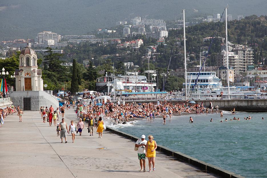 Strand von Jalta