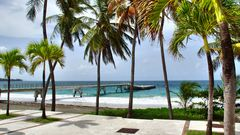 Strand von Le Diamant auf Martinique