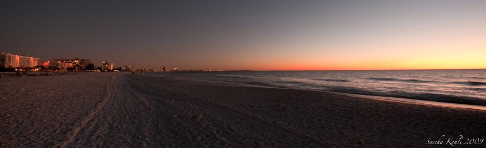 Strand von St.Petersburg Florida USA