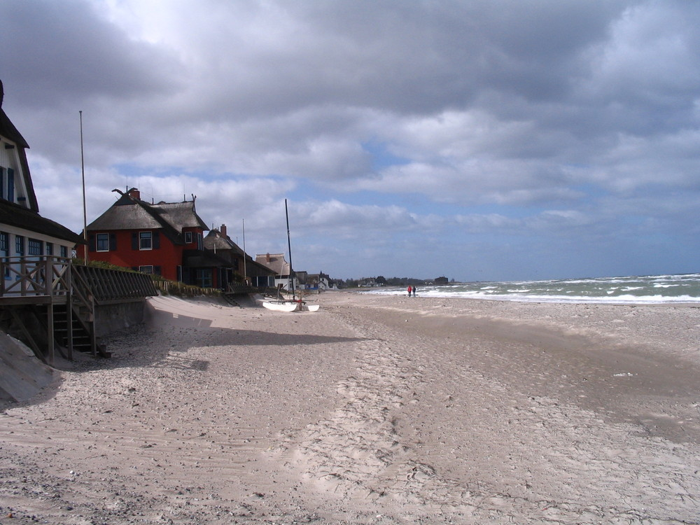 Strand vor der Insel Fehmarn