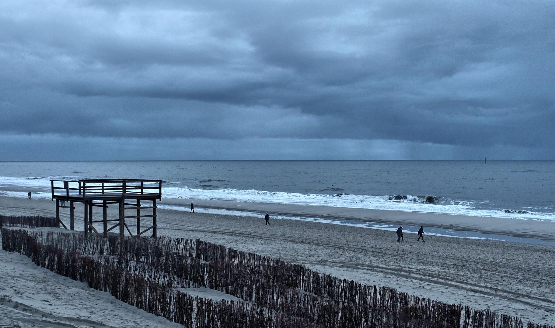strand vor westerland, sylt