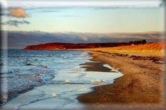 Strand zum ABEND INSEL HIDDENSEE