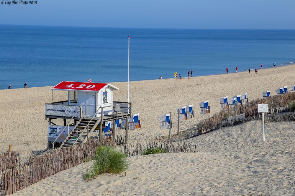 Strandabschnitt 4.2 Westerland/Wennigstedt Sylt