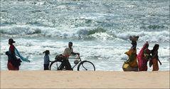 Strandaktivität